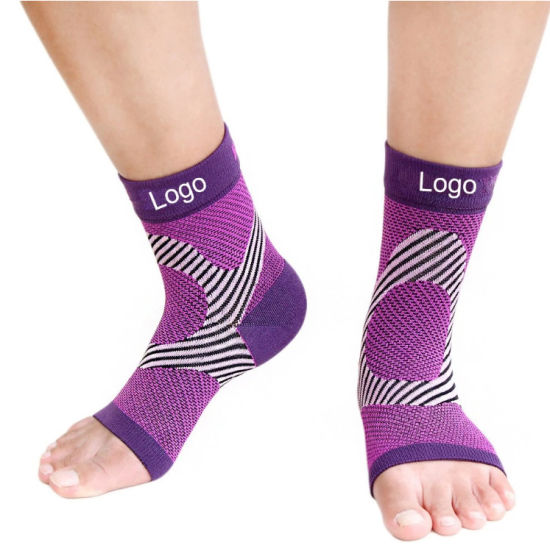 Amazon Hot Sale Ankle Brace Compression Support Sleeve Plantar Fasciitis Foot Socks with Arch Support
