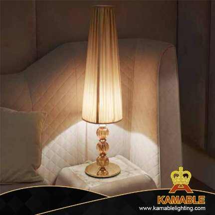 Hotel Project Modern Interior Decoration Bedside Crystal Desk Lamp (KA170301-1)