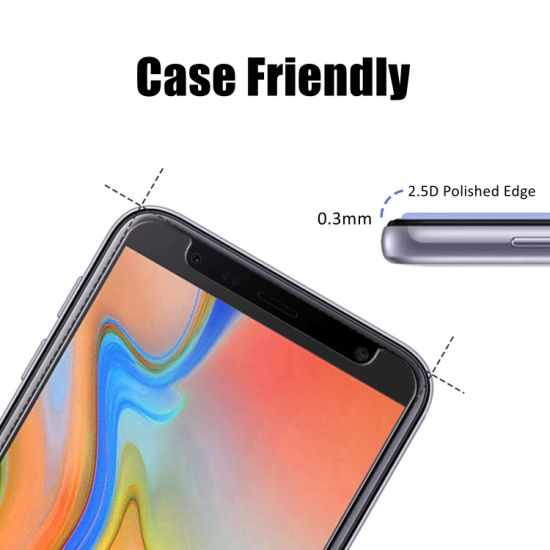 China Yeeshine 9h 2 5D Mobile Tempered Glass for Samsung