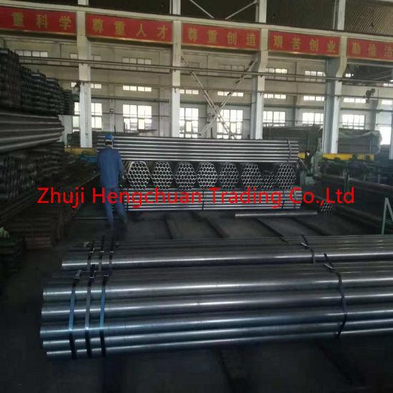 ERW Welding Steel Round Conveyor Idler Tube with ISO Certification