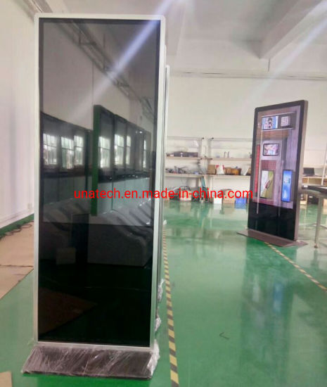 Kiosk 32/42/49/55/65inch Indoor Bus Stations LED Media Video Display Totem LCD Sign Screen