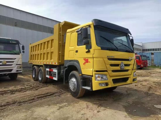 Used HOWO Dump Truck in Perfect Working Condition with Amazing Price. Secondhand HOWO 6*4 375HP Dump Truck on Sale