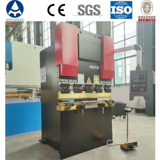 Wc67y/K-40t/1200 Hydraulic Metal Folding Machine Nc Small Press Brake Plate Bending Machine