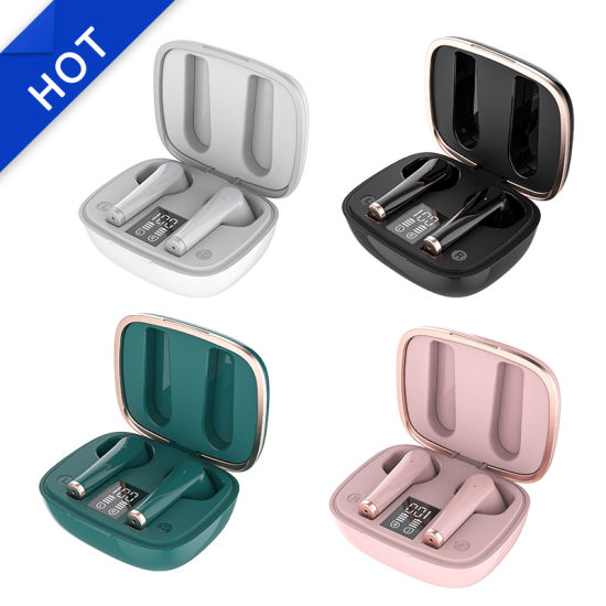 Jl6936D Chipset in-Ear Wireless Earphone Bluetooth 5.0 Tws Headset with Charging Case for Mobile Phone