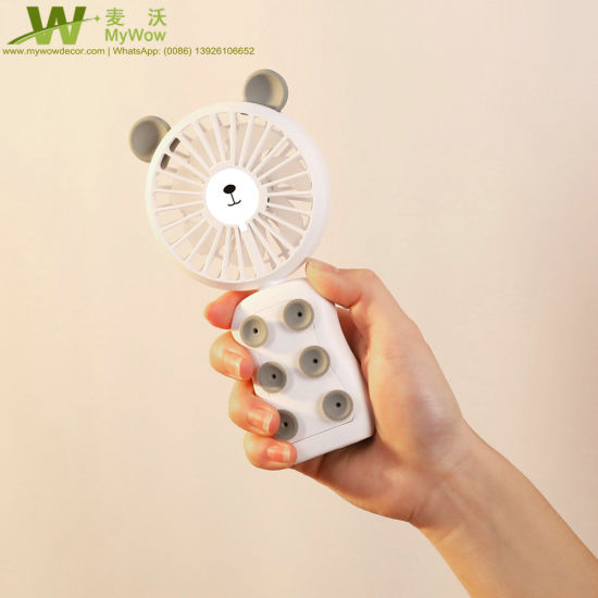 Hand Hold Small Electric Fan USB Rechargeable Portable Mini Fan pictures & photos
