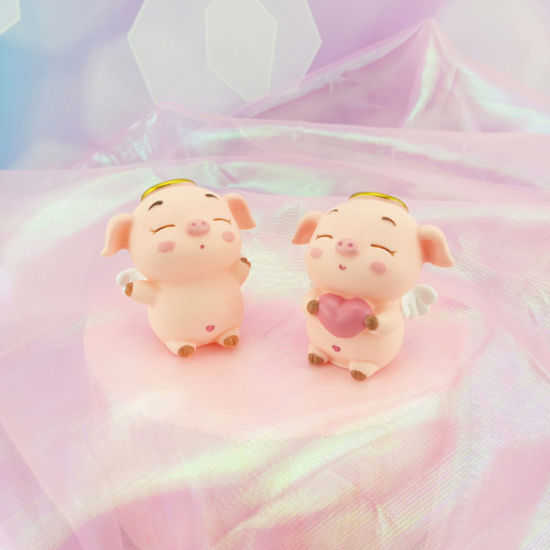 Cool China Custom Happy Birthday Cake Topper Funny Piggy Weeding Topper Funny Birthday Cards Online Necthendildamsfinfo