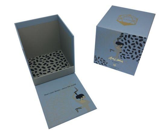 Cosmetics Boxs Custom Printing Luxury Magnetic Closure Paper Gift Box Cosmetics Packing
