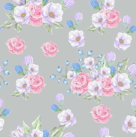 High Quality Custom Flower Design 100 Polyester Chiffon Crepe Print Textile Fabric