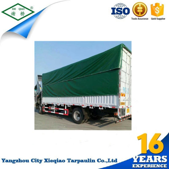 Durable PVC Coated Tarpaulin Container Side Curtain