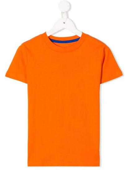Children's Plain Crew Neck Short Sleeves T Shirt