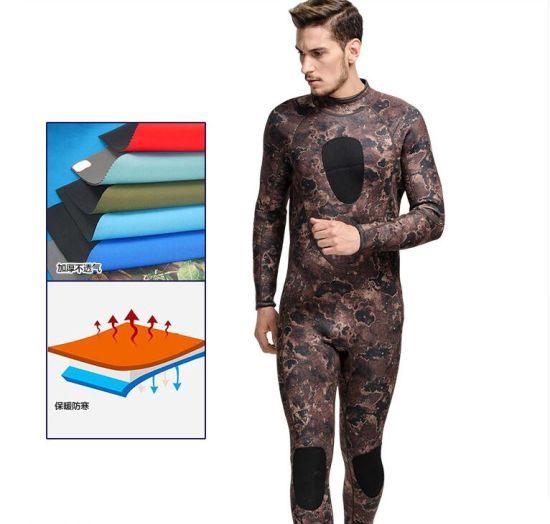 3mm Neoprene Men's Camouflage Clothing Diving Dress&Sportwear