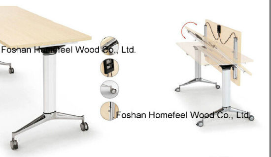 High Quality School Tranning Folding Table (HF-LS717) pictures & photos