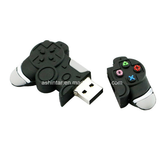 China Game Controllers USB Flash Drive Pendrive Cartoon PVC
