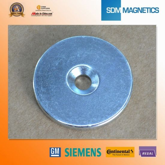 Neodymium Permanent Magnet Magnetic Assembly for Gold