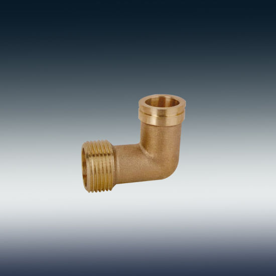 "F-0004-1025 Brass Elbow Fitting 1 1/2"""