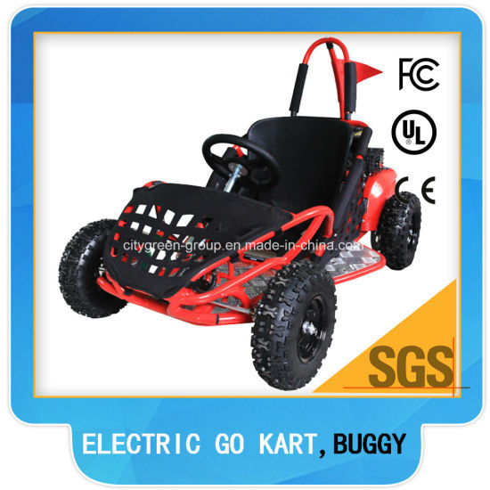 48V Electric Go Kart Buggy Kids Racing Go Cart for Sale pictures & photos