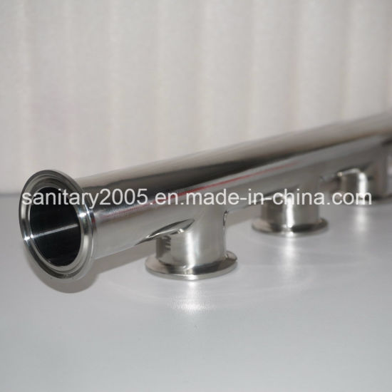 Sanitary Ss304 Manifold for Food Medical Industry