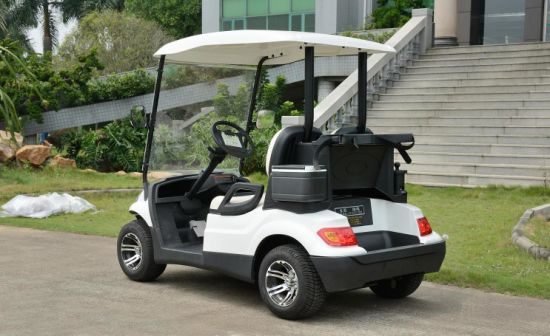 2 Seaters Electric Golf Cart Use in Golf Course pictures & photos