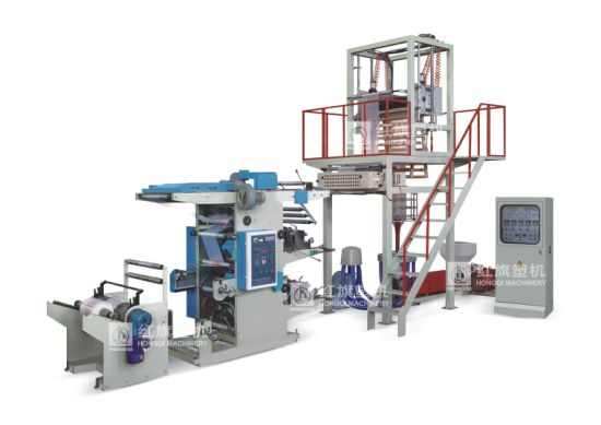 PE Film Blowing Machine and Flexograohic Printing Machine pictures & photos