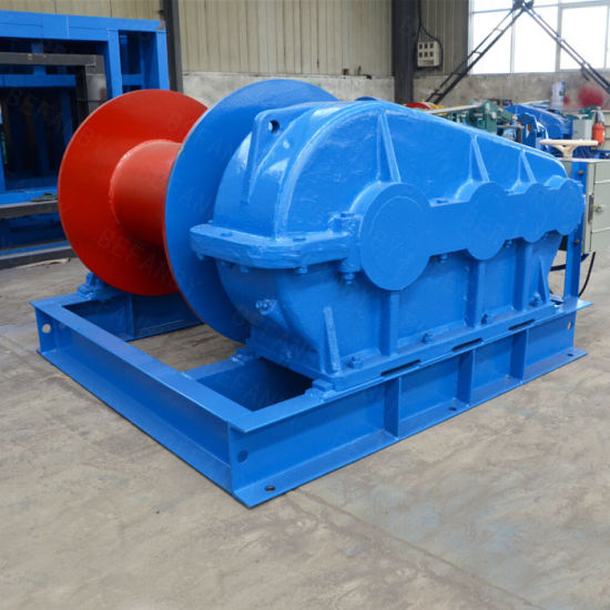 15kn Slow Speed Electric Winch for Underground Mill