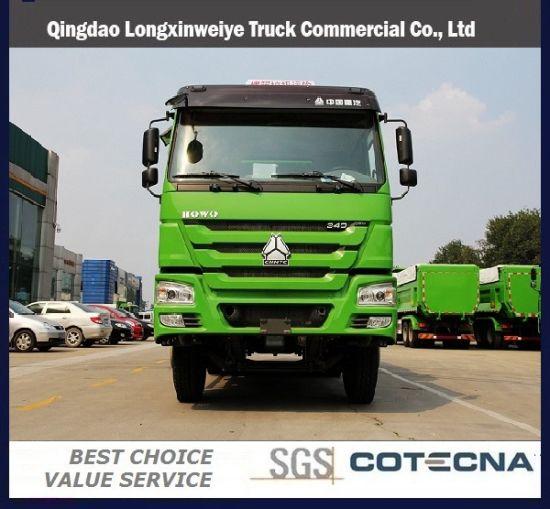 Cnhtc Sinotruk HOWO Dump Truck 6X4 336HP Capacity 20-25cbm Tipper Truck
