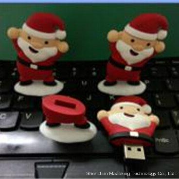 OTG USB Flash Drive Christmas Man Pen Drive