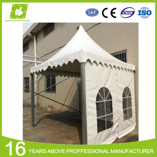 Fire Resistant Waterproof Polyester Vinyl Coated Tarp PVC Canvas Canopy Tent Fabric pictures & photos