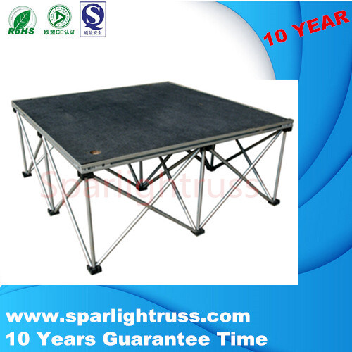 Aluminum Outdoor Concert Stage Folding Stage Used Mobile Stage