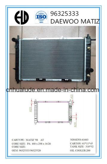 Cool China Goog Quality Auto Brazed Aluminum Radiator For Daewoo Matiz 98 Wiring Digital Resources Talizslowmaporg
