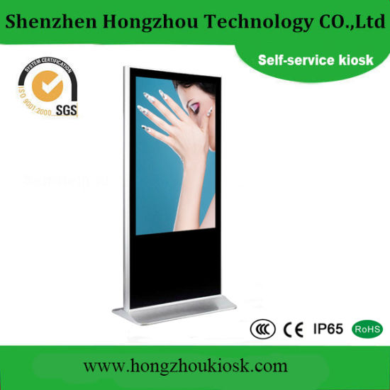 China 65 Inch Touch Screen Kiosk and Touch Screen Advertising Player