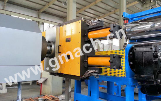 Double Plate Two Working Station Hydraulic Screen Changer pictures & photos
