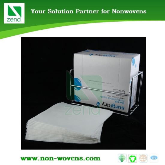 Disposable Hospital Nonwoven Cloth Dry Towels pictures & photos