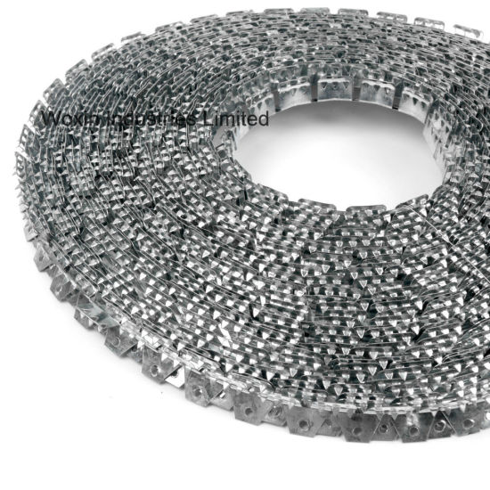 China Medium Flexible Metal Tack Strip Curve Ease Three Tooth