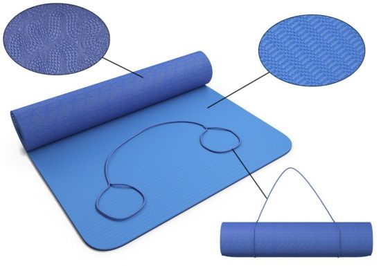 Eco Friendly Nonslip Hot Yoga Mat TPE NBR PVC pictures & photos