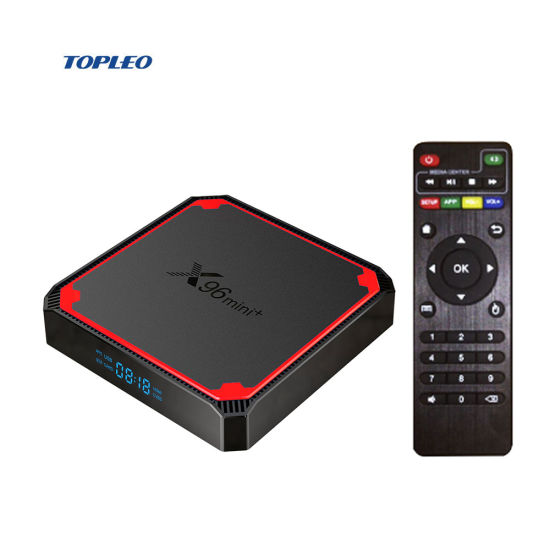 Free Moving Decoder Kodi IPTV Internet TV Set Top Box X96 Mini Streaming Media Player Ott 4K HD Samrt Android TV Box