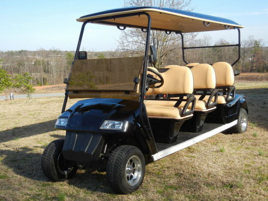 Golf Cart, Electric, Six Seater, Eg2068k01, CE Approved, Lsv,