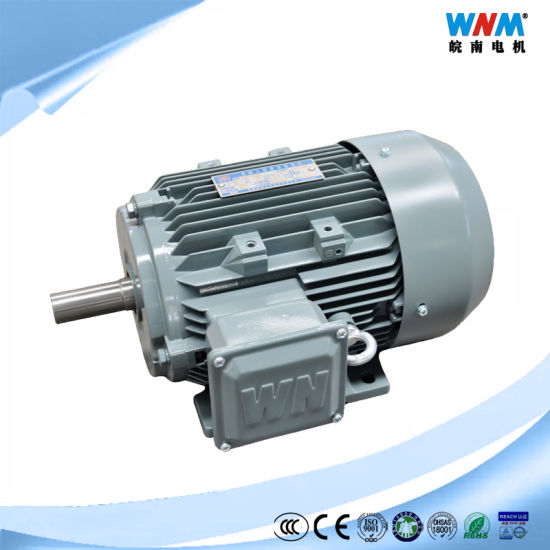 High Efficiency Ie2 Yx3 Frame315/355 Three Phase AC Electric Motor 132kw 180HP for Pump Air Compressor Gear Box Reducers Fan Blower Mixer From Wnm Motor