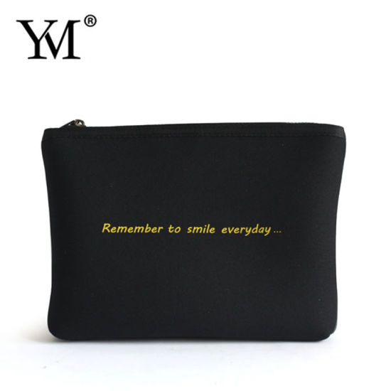 Factory Direct Wholesale Top quality Waterproof Neoprene Cosmetic Bag pictures & photos
