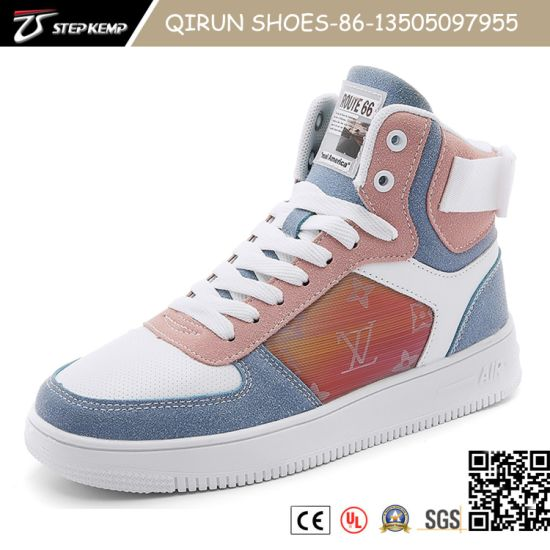Newest Comfortalbe Flat Shoes High Upper Skate Shoes Men's Sneaker 20s3008