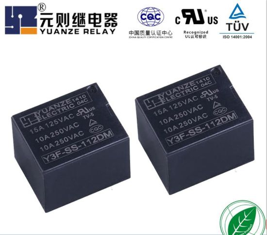 12V Miniature Electromagnetic Wholesale Price 5 Pin General Power Relay