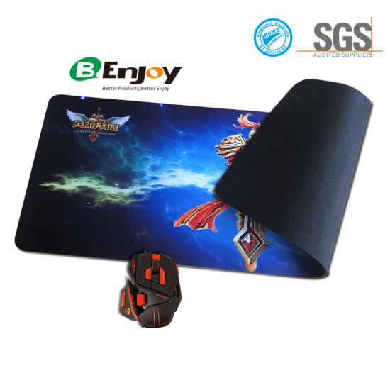 Large Computer Rubber Gaming Keyboard Mouse Desktop Pad pictures & photos