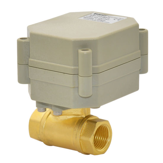 China Motorised Valve (T10-B2-A) - China Motorised Valve, Motorized ...