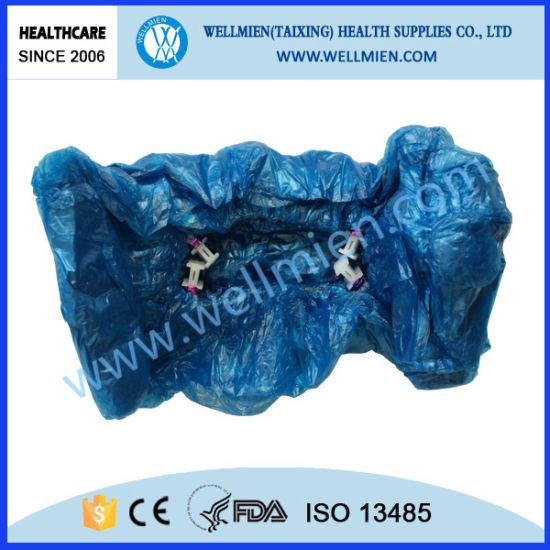 PE Shoe Cover for Shoe Cover Dispenser pictures & photos