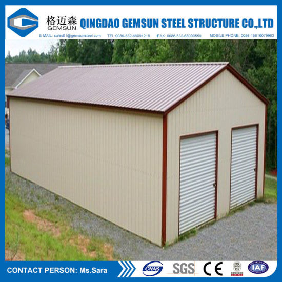 Prefabricated Construction Design Steel Structure Warehouse Shed pictures & photos