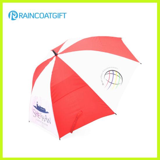 Advertising 30'inch 8k Fiberglass Double Layer Golf Umbrella