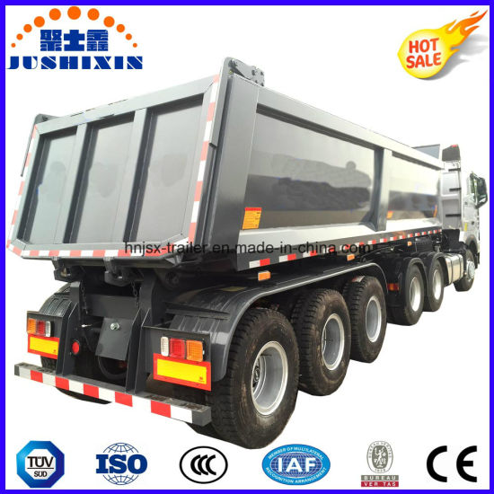 40 Ton Tipper Trailer Tipper Semi Trailer 46 Cbm pictures & photos