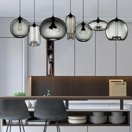 China Coloured Glass Pendant Lights For Kitchen Bar Restaurant Lighting Wh Gp 02 China Chandelier Light Chandeliers