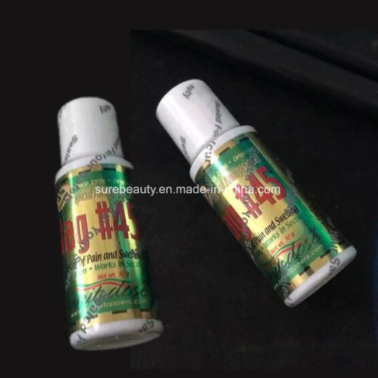 China OEM Tag45 Topical Anesthetic Gel Permanent Makeup Tattooing ...