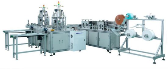 Sk1950-2 Full Automatic Double Line Non Woven Mask Making Machine