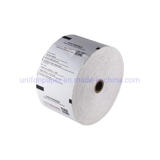 Unifon Manufacturer ATM Cash Receipt Printer Thermal Rolls Paper